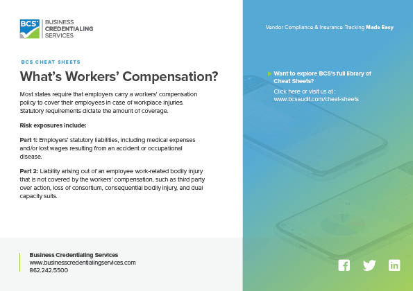 Whats Workers' Compensation