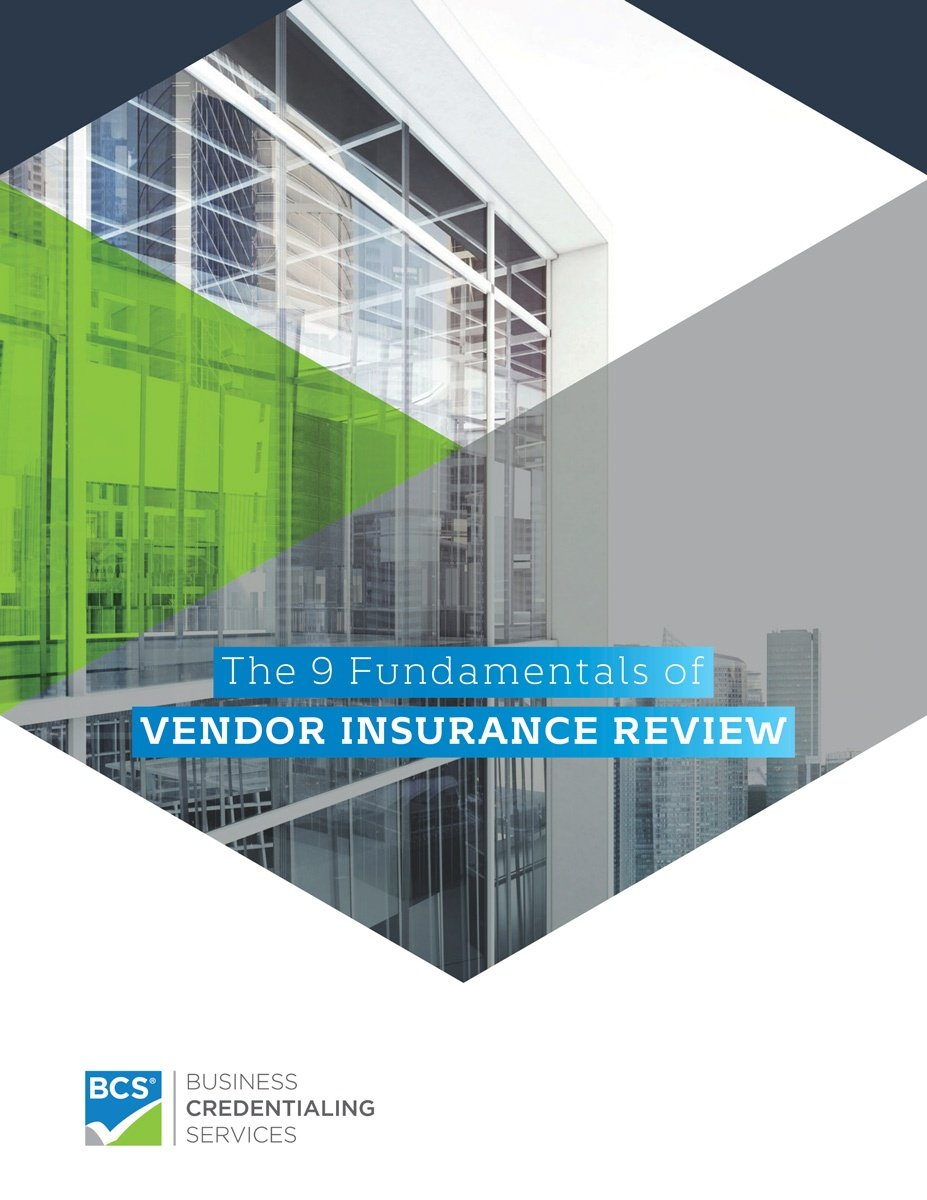 9 Fundamentals Guide of Vendor Insurance Review