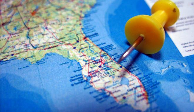 florida map close-up