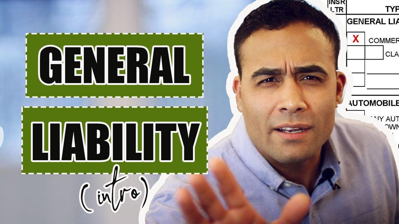 General liability intro-1